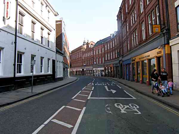 Looking towards Rougier Street.