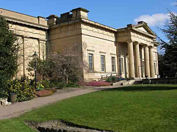 Looking at the Yorkshire Museum.
