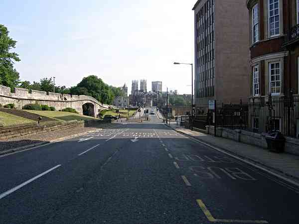 Looking towards Lendal Bridge.